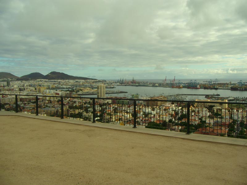 Una panoramica di Las Palmas da